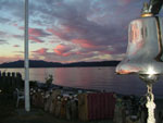 Sunset from the Tyee Clubhouse. Photo by Deb Idiens