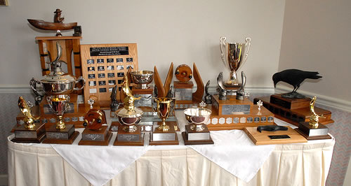 Tyee Club Awards table