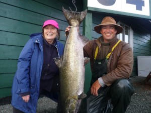 Ginny Harrington (new member) 34lb Aug 28 rowed by Randy Killoran