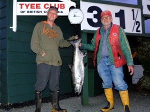 MacRyan  Phee (new member) 31 5 lb tyee on a spoon rowed by Fred Gerl Sep 2nd @ 720  1 41 MB